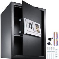2c5cd65e8a96 Caja fuerte con cerradura electrónica combinación puerta sólida 50x35x34,5  cm NU