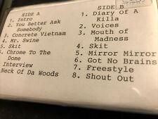 "INSANE POETRY - ""BLACC PLAGUE"" '95 DEMO - UNRELEASED G-FUNK"