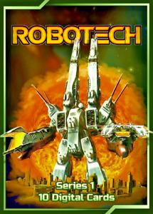 NFT - Robotech Series 1 Standard Pack - Blockchain Anime Crypto WAX Mint #8299