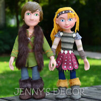 """TOYS 15"""" HICCUP ASTRID PLUSH SOFT DOLLS POSEABLE FIGURE"""