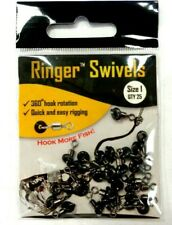 Ringer Swivels - Size 1 - 25 in pack - for Quick and Easy Ballyhoo Rigging
