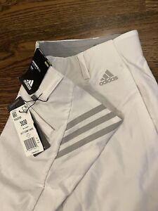 NEW Adidas mens Golf Pants sz 30x30 White Ultimate 365
