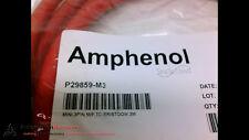 AMPHENOL P29859-M3 CORDSET MINI 3P M/F TC-ER/STOOW 3M, NEW #201491