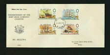 St Helena Tercentenary of The East India Company Charter First Day Cover Ships