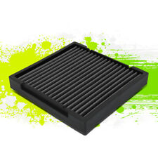 FOR 09-19 HONDA CIVIC/CRV/FIT/INSIGHT FACTORY STYLE PANEL CABIN AIR FILTER BLACK
