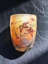 Daum Nancy (Miniature) Vase Art Nouveau 1900
