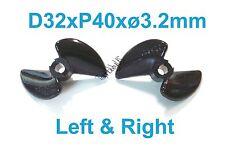 "1 set D32mmxP40, 2-Blades RC Boat Left&Right Propeller 1/8"" Shaft, 038-05904/05"