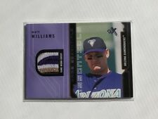 MATT WILLIAMS 2002 EX BASEBALL Game Essentials 4 COLOR Jersey Patch DIAMONDBACKS