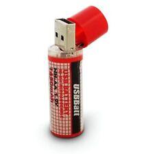 PILE ACCU AA BATTERIE RECHARGEABLE 1450mAh 1.2V PAR USB • UTILE • PUISSANT • FR