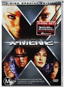 X-MEN 2 DVD MOVIE 2-DISC SPECIAL EDITION 2001 FILM VERY GOOD CONDITION JACKMAN!!