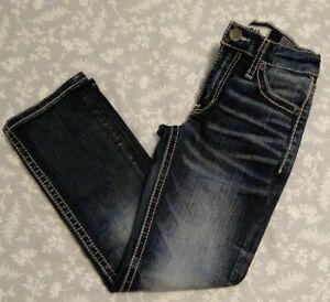 NWOT Boy's BKE Conner Bootleg Dark Jeans Size 6