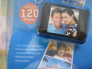 "Coby DP-161 1.5"" LCD Digital Picture Keychain Holds 120 Photos - FREE SHIPPING!"