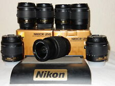 Perfect Nikon Nikkor AF-P DX 18-55mm VR 'Kit' G-Lens + Warranty.Latest Silent AF
