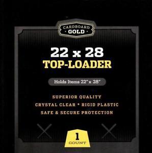 (1) CBG - 22X28 Poster Toploader Top Load Holder Photo Loader Sleeve Cover