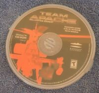 Windows CD ROM-Team Apache Helicopter Combat Game