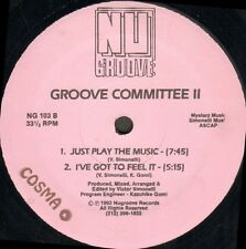 Groove COMMITTEE - Dirty Games - Nu Groove - NG 103 - Usa