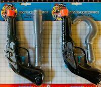 Postler Piratenpistole Wasserpistole 2 fach Sortiert