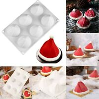 DIY 3D Silicone Christmas Hat Cake Mold Baking Mold Kitchen Cake Mold Bakeware