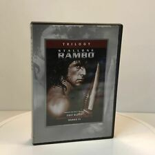 Used - Rambo - 4 Movie Set (First Blood, First Blood Part II, III, & Rambo - DVD