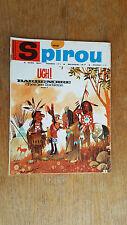 SPIROU N°1512 DU 6 AVRIL 1967 / AVEC MINI RECIT PAR DELIEGE  / B+.