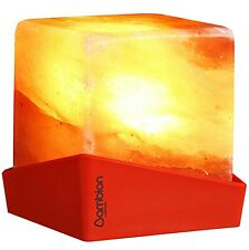"Ambion Himalayan Salt Lamp, ""Nuptse"", Red"