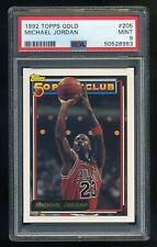 1992 Topps GOLD #205  Michael Jordan  PSA 9