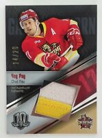 2017 Sereal KHL 14/20 Chad Rau Jersey Card