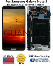WOW LCD Touch Screen Digitizer FRAME For Samsung Galaxy Note 3 N900A N900T Black