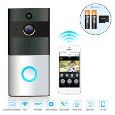 Smart Wireless Doorbell Kit Video Camera Door Phone Ring Intercom Home Security