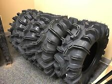 QuadBoss ATV UTV Radial Mud Tires (Four Tires) QBT673 6 Ply 30x10R-14 Combo