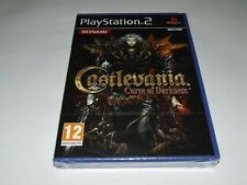 CASTLEVANIA : CURSE OF DARKNESS  PS2  sealed new old stock COLLECTORS!