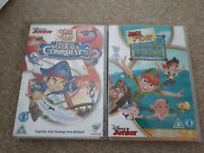 Disney Junior Jake And The Neverland Pirates Childs Dvds Peter Pan