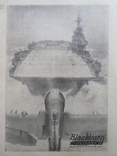 5/1946 PUB BLACKBURN FIREBRAND IV STRIKE AIRCRAFT ROYAL NAVY HMS PORTE-AVIONS AD