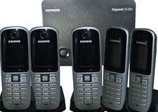 Siemens Gigaset S3 S680 professionnel DECT Téléphone 5X combiné + Chargeur+