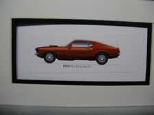 1969 Ford Mustang  Mach 1 From  The 50 Year Anniversary Exhibit by artist
