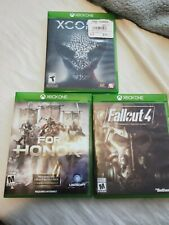Xbox one games bundle fallout 4, for honor, XCOM 2