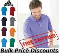 Adidas Climalite Mens Basic Sport Shirt Polo Button Blank Plain A130 up to 4XL