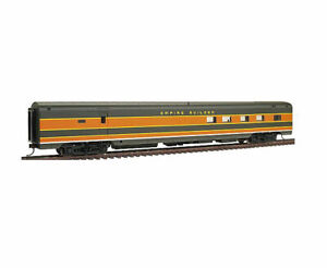 """WALTHERS 932-9065 AC&F """"RANCH"""" LOUNGE CAR GREAT NORTHERN EMPIRE SCHEME PARTIAL L"""