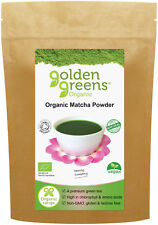 Organic Matcha Powder 100g, Stone-Ground, High Chlorophyll (covered for 2 weeks)