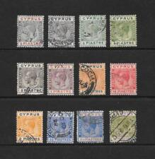 VG (Very Good) Cypriot Colony Stamps (Pre-1960)