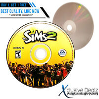 Disc 4 ONLY The Sims 2 2004 EA Games PC Video Game (Nearly New) #4 XDEALZ