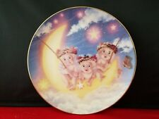 """Dreamsicles Friends Hamilton Collection Plate By The Light Of The Moon 6.5""""d"""