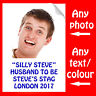 PERSONALISED STAG PARTY IRON ON TRANSFER PHOTO OR TEXT FOR T SHIRT TSHIRT