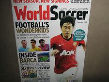 NEW! WORLD SOCCER September 2012 SHINJI KAGAWA 50 Best Young Players SHEVCHENKO