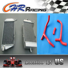 FOR Honda CRF450R CRF450 2009-2012 2009 2010 2011 2012 Aluminum radiator & hose