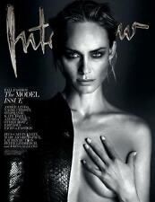 INTERVIEW,Amber Valletta,Stephanie Seymour,Kate Moss,,John Galliano,Calvin Klein