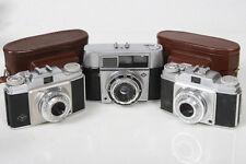 Agfa Silette and Optima -  3 Cameras