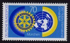 W Germany 1987 Rotary International Convention SG 2188 MNH