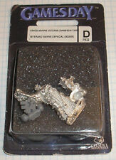 40k Rare oop Vintage Blister Metal Gamesday Games Day 2005 Space Marine Captain