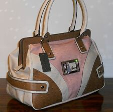 GUESS RUSSELL LARGE TOTE - HANDBAG - ON PINK TONE ** NEW WITH TAGS**